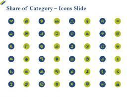 Share Of Category Icons Slide Share Of Category Ppt Introduction