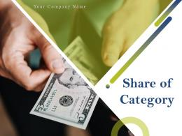 Share Of Category Powerpoint Presentation Slides