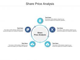 Share Price Analysis Ppt Powerpoint Presentation Visual Aids Icon Cpb