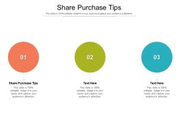 Share Purchase Tips Ppt Powerpoint Presentation Infographics Themes Cpb
