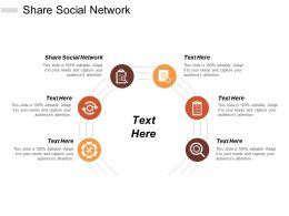 Share Social Network Ppt Powerpoint Presentation Inspiration Example Cpb