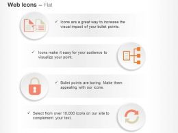Share Sync Security Sitemap Ppt Icons Graphics