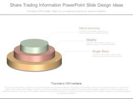 Share Trading Information Powerpoint Slide Design Ideas