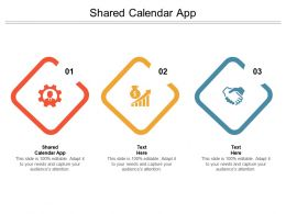 Shared Calendar App Ppt Powerpoint Presentation Inspiration Slide Cpb