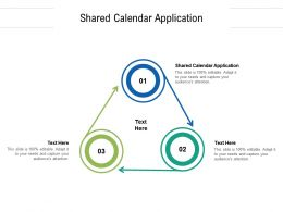 Shared Calendar Application Ppt Powerpoint Presentation Inspiration Guidelines Cpb
