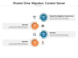 Shared Drive Migration Content Server Ppt Powerpoint Presentation Inspiration Layout Cpb
