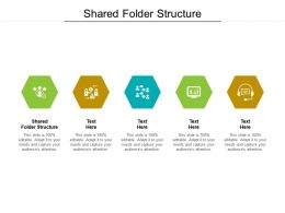 Shared Folder Structure Ppt Powerpoint Presentation Professional Maker Cpb