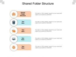 Shared Folder Structure Ppt Powerpoint Presentation Styles Picture Cpb