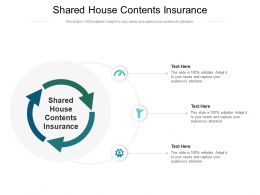 Shared House Contents Insurance Ppt Powerpoint Presentation Layouts Template Cpb