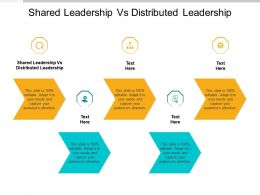Shared Leadership Vs Distributed Leadership Ppt Powerpoint Presentation Inspiration Elements Cpb