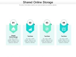 Shared Online Storage Ppt Powerpoint Presentation Layouts Grid Cpb