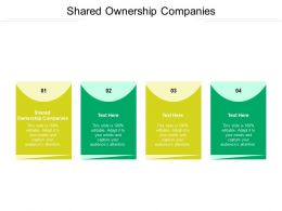 Shared Ownership Companies Ppt Powerpoint Presentation Professional Layout Ideas Cpb