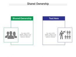Shared Ownership Ppt Powerpoint Presentation Icon Aids Cpb