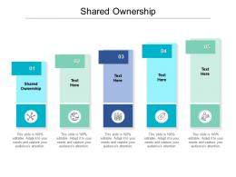 Shared Ownership Ppt Powerpoint Presentation Ideas Infographic Template Cpb