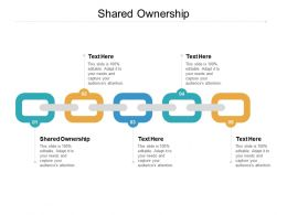 Shared Ownership Ppt Powerpoint Presentation Infographic Template Graphics Pictures Cpb