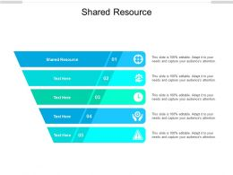Shared Resource Ppt Powerpoint Presentation File Shapes Cpb