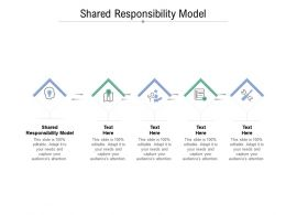 Shared Responsibility Model Ppt Powerpoint Presentation Pictures Templates Cpb