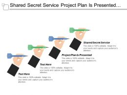 Shared Secret Service Project Plan Is Presented Steering Committee
