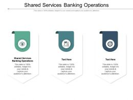 Shared Services Banking Operations Ppt Infographic Template Clipart Cpb