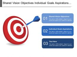 Shared Vision Objectives Individual Goals Aspirations Business Processes