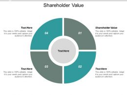 Shareholder Value Ppt Powerpoint Presentation Styles Example File Cpb