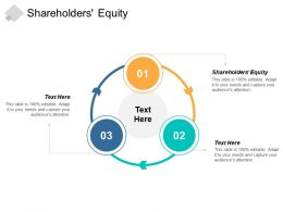 Shareholders Equity Ppt Powerpoint Presentation Gallery Graphic Images Cpb