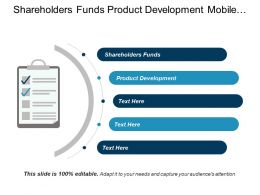 Shareholders Funds Product Development Mobile Advertising Value Chain Cpb