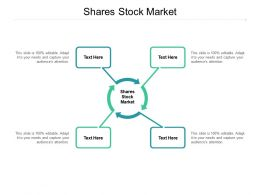 Shares Stock Market Ppt Powerpoint Presentation Inspiration Introduction Cpb