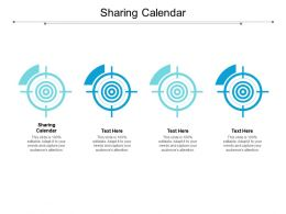 Sharing Calendar Ppt Powerpoint Presentation Portfolio Backgrounds Cpb