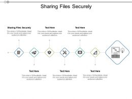 Sharing Files Securely Ppt Powerpoint Presentation Infographic Template Ideas Cpb
