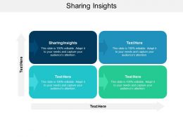 Sharing Insights Ppt Powerpoint Presentation Styles Gallery Cpb
