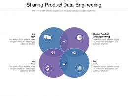 Sharing Product Data Engineering Ppt Powerpoint Presentation Outline Example File Cpb