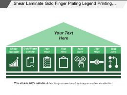 Shear Laminate Gold Finger Plating Legend Printing Image Transfer