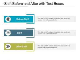 Shift Before And After With Text Boxes