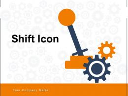 Shift Icon Company Employee Arrow Gear Rotational Square Direction