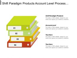 Shift Paradigm Products Account Level Process Domains Administer Partner