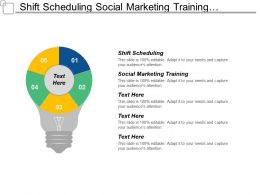 Shift Scheduling Social Marketing Training Employee Motivation Strategies