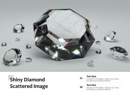 Shiny Diamond Scattered Image