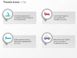 Ship Rest Rooms Car Transport Ppt Icons Graphics