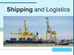 Shipping And Logistics Product Service Containers International Network Transportation
