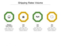 Shipping Rates Volume Ppt Powerpoint Presentation Icon Display Cpb