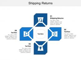 Shipping Returns Ppt Powerpoint Presentation Pictures Show Cpb