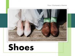 Shoes Business Advertising Planning Generating Depicting