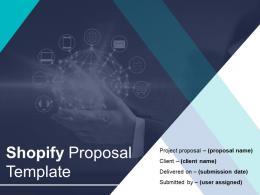 Shopify Proposal Template Powerpoint Presentation Slides
