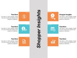 Shopper Insights Ppt Powerpoint Presentation Summary Template Cpb