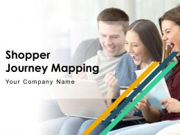 Shopper Journey Mapping Powerpoint Presentation Slides