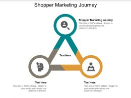 Shopper Marketing Journey Ppt Powerpoint Presentation Ideas Inspiration Cpb
