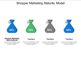 Shopper Marketing Maturity Model Ppt Powerpoint Presentation Ideas Model Cpb