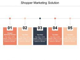 Shopper Marketing Solution Ppt Powerpoint Presentation Slides Structure Cpb