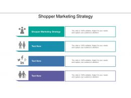 Shopper Marketing Strategy Ppt Powerpoint Presentation Summary Icons Cpb